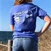 I love this flo blue Comfort Colors Beach Permit T-shirt! | Printed on Cape Cod | LaBelle Cape Cod
