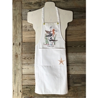 I'm obsessed with this adorable seashore Cape Cod Apron!  Well made of 100% cotton | LaBelle's