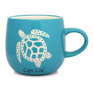 love this sea turtle etched mug |  Batik Mug - Turtle | LaBelle's General Store