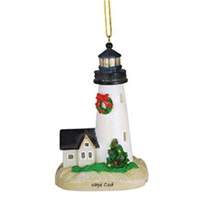 light up your life! | Cape Cod Lighthouse Light-up Ornament