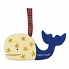 I love this wooden cut-out Whale Ornament! | Cape Cod Lobster | LaBelle's General Store