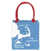 Cape Cod Coastal Mini Tote Bag