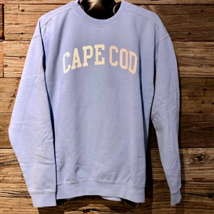 Coastal Blue is everyone's favorite hue! | I love this light blue garment dyed Cape Cod Crewneck Sweatshirt | LaBelle's General Store