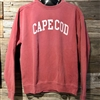 Nantucket Red is always in style!  We love this garment dyed Cape Cod Crewneck Sweatshirt | LaBelle's General Store