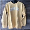 This is such a great color!  Love the style and comfort of this yellow garment dyed Cape Cod Crewneck Sweatshirt | LaBelle's General Store