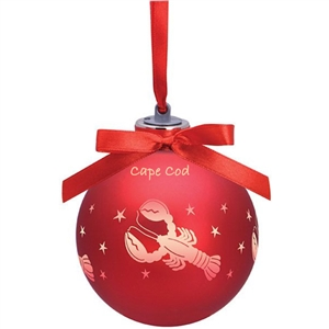 I love this light-up Lobster Ornament! | Cape Cod Lobster | LaBelle's General Store