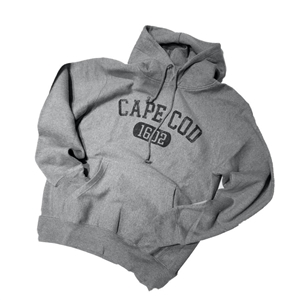For superior softness and comfort | Gray Cape Cod Hoodie | LaBelle's General Store