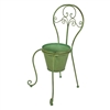 So whimsical!  French Country Chair Planter | Cottage Style | LaBelle Cape Cod