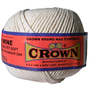 100% Cotton #24 Butcher's Twine 1/2 lb. Ball | Food Safe | LaBelle's General Store