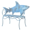 You're gonna need a bigger porch! | Shark Metal Bench | LaBelle Cape Cod