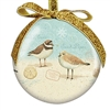 I love these shore bird shatterproof Cape Cod Ball Ornaments! | LaBelle's General Store