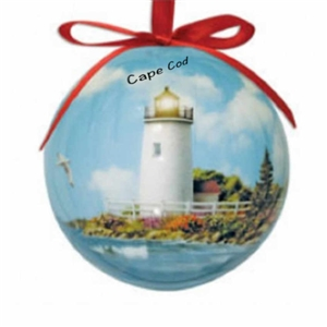 I love this Rays of Hope shatterproof Cape Cod Ball Ornament! | LaBelle's General Store