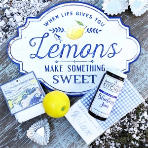 When Life Gives You Lemons, MAKE SOMETHING SWEET!