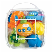 Make bath-time fun with this adorable set of Ocean Beach Bath Toys | LaBelle's General Store
