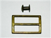 Brass German sling buckle