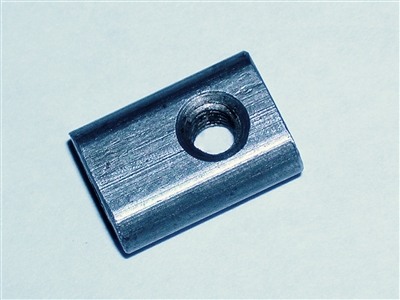 Cleaning rod nut, square
