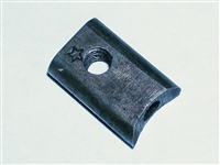 Cleaning rod nut, concave type