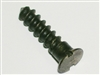 Tang screw plate wood screw