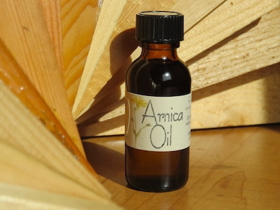 ARNICA FLOWER INFUSED OIL
