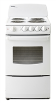 "Danby Designer 2.4 20"" Electric Range - Window - White"