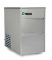 Sunpentown Automatic Stainless Steel Ice Maker - 110 Lb Capacity