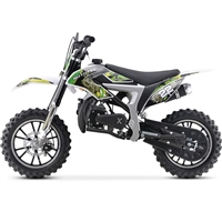 MotoTec 50cc 2 Stroke Demon Kids Gas Dirt Bike