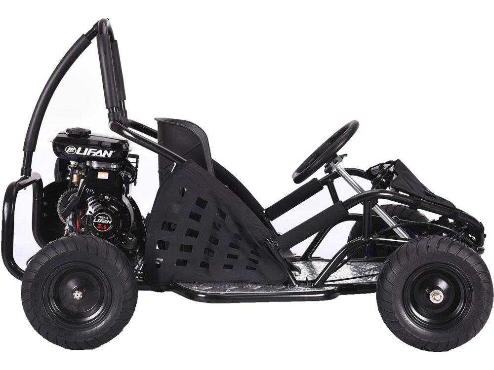 MotoTec Off Road Go Kart 79cc - Black or Red