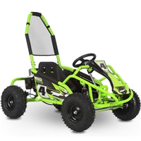 MotoTec Mud Monster 98cc Kids Go Kart Full Suspension
