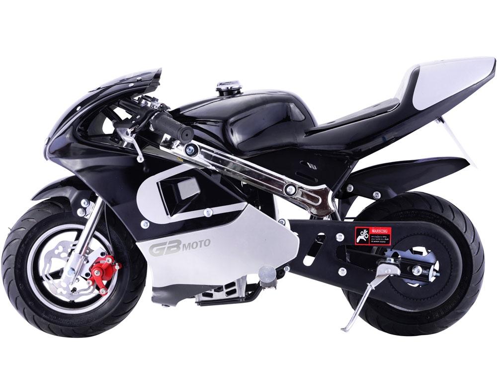 MotoTec GBmoto 40cc 4-Stroke Gas Pocket Bike