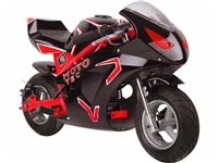 MotoTec 49cc 2-Stroke Gas GT Pocket Bike