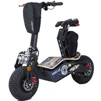 MotoTec Mad 1600w 48v Electric Scooter - Dark Blue