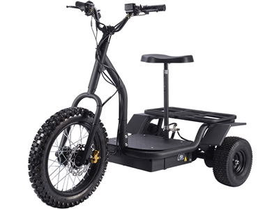 MotoTec Electric Trike 48v 1200w Scooter MT-TRK-1200