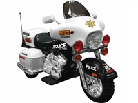 NPL Patrol H. Police 12v Motorcycle Ride On