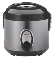 Sunpentown 6 Cup Rice Cooker with Stainless Body