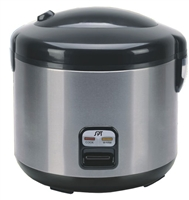 Sunpentown 6 Cups Rice Cooker with Stainless Body