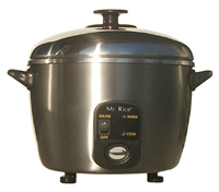 Sunpentown 6 Cups Stainless Steel Cooker & Steamer
