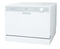 Sunpentown Countertop Dishwasher with Delay Start
