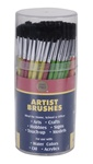 Pony Hair Brush Cylinder (144 Artist Brushes)