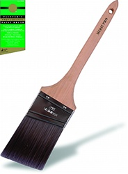 Professional Painters Angle Rat Tail Handle Brushes