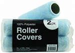 Economy 100% Polyester Roller Covers 2Pk
