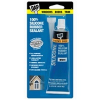 DAP 2.8 Oz 100% Silicone Rubber Sealant