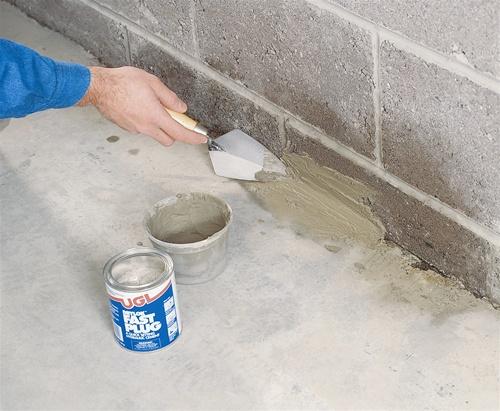 Ugl Drylok Fast Plug Hydraulic Cement