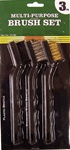 Mini Wire Brushes 3 Pack