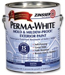Zinsser PERMA-WHITE Mold & Mildew-Proof Exterior Paint