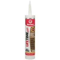 Red Devil 10.1 Oz Lifetime Caulk White 0856PR