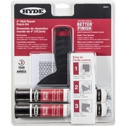 Hyde Better Finish Wall Repair Patch Kit 09915