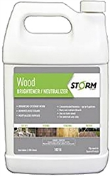 Storm System Wood Brightener/Neutralizer Gallon 10310