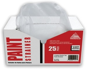 Trimaco Elastic Top Paint Strainer 25 Pack