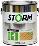 Storm System Category 1 Transparent 100% Acrylic Topcoat Gallon 11550