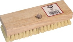 "DQB 8"" Tampico Acid Brush w/Threaded Hole 11643"